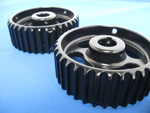 Black Hardcoat Anodizing of Gears & Pulleys