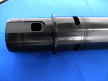 Black Hardcoat Anodizing of Shafts