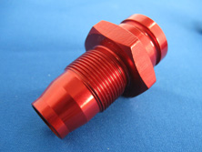 Bright Red Aluminum Anodized Parts